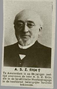 Abraham Salomon Zadok Eitje (CBG, collectie Veenhuijzen)