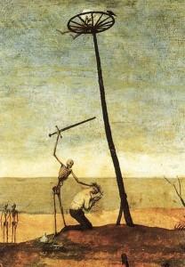 Pieter Bruegel de Oude: Triomf van de dood (ca. 1562-1563, fragment)