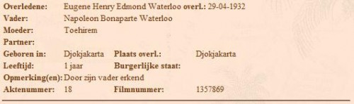 Napoleon Bonaparte Waterloo (roosjeroos.nl)