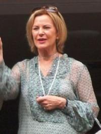 Anni-Frid Lyngstad van ABBA, weduwe van prins Heinrich Ruzzo Reuss van Plauen (foto Daniel Åhs Karlsson, CC A 3.0 U)