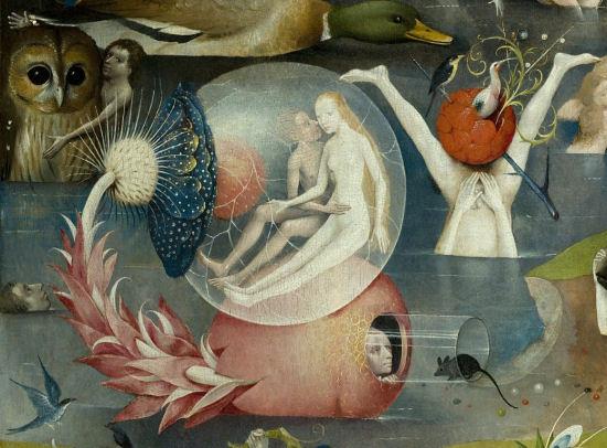 Jeroen Bosch, De tuin der lusten (fragment)