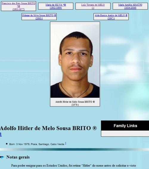 De 30-jarige Adolfo Hitler (http://www.barrosbrito.com)