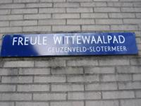 Het Freule W(i)ttewaalpad in Amsterdam