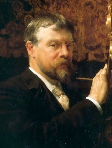 Zelfportret Lawrence Alma-Tadema