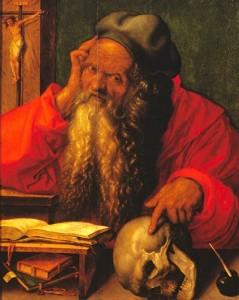 Was Jerenome Kossen vernoemd naar de heilige Hiëronymus? (Albrecht Dürer, 1521)