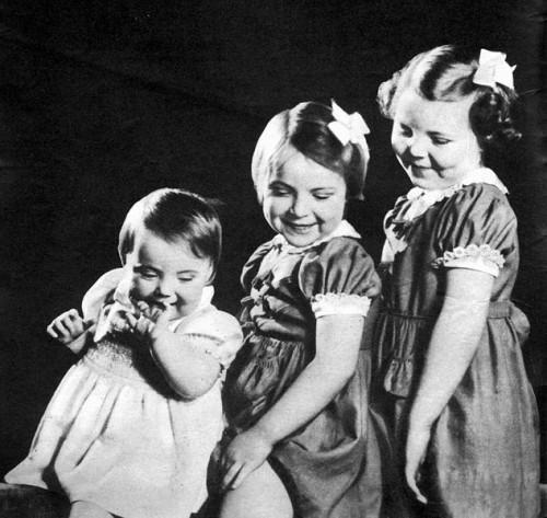 De prinsesjes Margriet, Irene en Beatrix in 1944 (De Wervelwind nr 24)