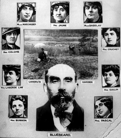 De Franse seriemoordenaar Henri Désiré Landru, de Blauwbaard van Parijs, naar wie een echtpaar in Batavia hun kind vernoemde