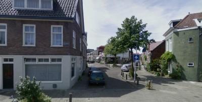 De Dijkstraat gezien vanaf de Oostvest (Google Streetview)