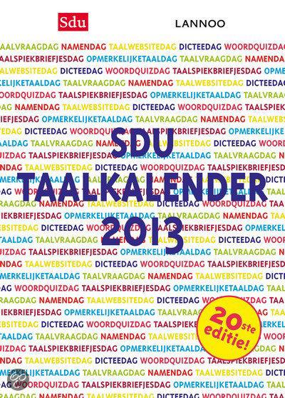Sdu Taalkalender 2013