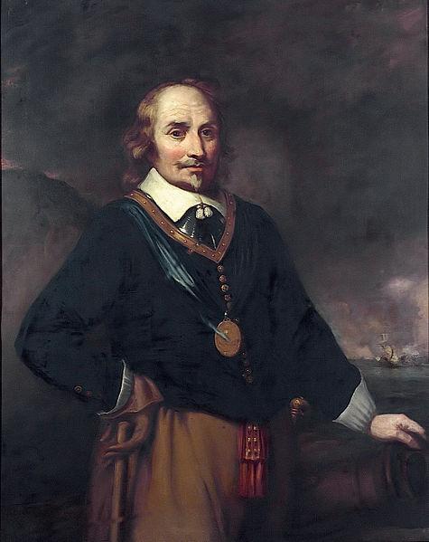 Maarten Harpertszoon Tromp (naar een gravure van Jan Lievens)