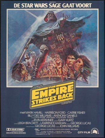 Nederlandswe filmposter van Star Wars: Episode V - The Empire Strikes Back (1980)