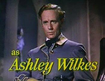 Dit kan niet goed gaan: Leslie Howard speelt Ashley Wilkes in Gone with the Wind (1939)