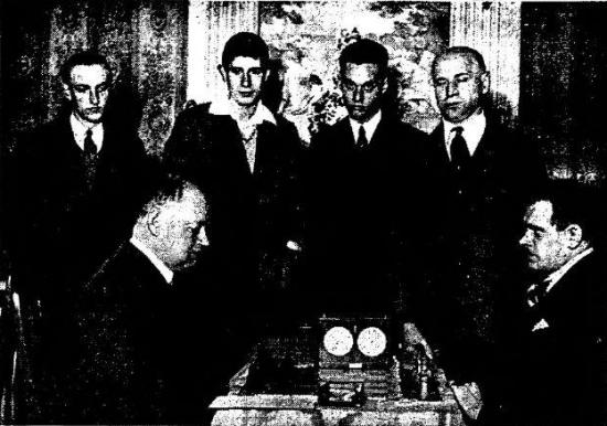 Foto: Het Vaderland, 20 maart 1933