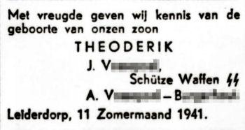 Volk en Vaderland, 20 zomermaand 1941
